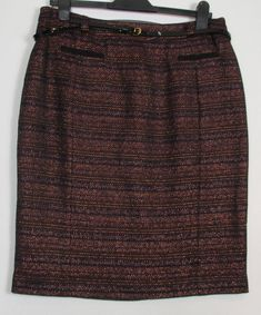 742664687 New Country Casuals Tweed Style Pencil Skirt - Size 8 - 14 #fashion  #clothing