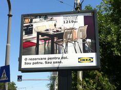 IKEA ad @ Bucharest