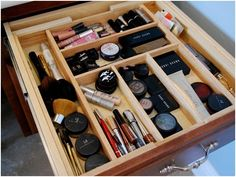 kitchen drawer dividers for organizing makeup