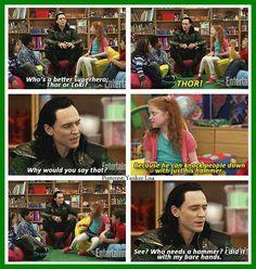 Loki on Comedy Central