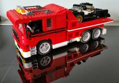Flatbed recoverytruck custommade by Timberdale Creations