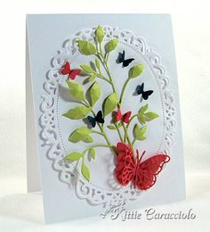 Butterflies by kittie747 - Cards and Paper Crafts at Splitcoaststampers