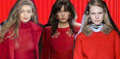Il colore di moda per l'autunno inverno 2017-2018 sarà il rosso, ma in tonalità precise che andranno abbinate così