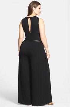 'Anwer' Jumpsuit (Plus Size) Curvy Girl Fashion, Plus Size Fashion, Womens Fashion, Emo Fashion, Plus Size Dresses, Plus Size Outfits, Mini Dresses, Ball Dresses, Plus Size Blog