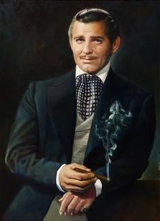 """I seem to be spoiling everyone's brandy and cigars and... dreams of victory."" ~Rhett Butler"