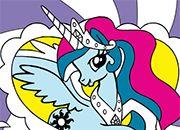 Princesa Celestia Coloring MLP