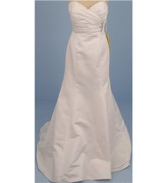 BNWT Jasmine Collection, size 12, ivory strapless wedding dress | Oxfam GB | Oxfam's Online Shop