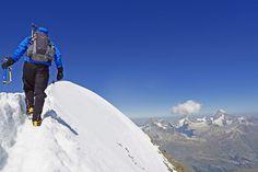 Über den Gletscher zum Gipfel: 7 Hochtouren in den Alpen