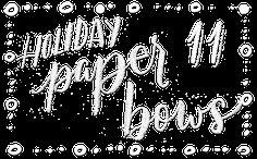 Publix DIY Holiday Paper Bows