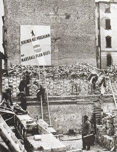 Berlin, Marshall Plan, 1947.
