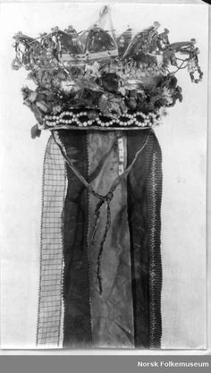 Digitalt Museum - Brudekrone Bridal Crown, Crowns, Norway, Museum, Museums, Crown Royal Bags, Crown
