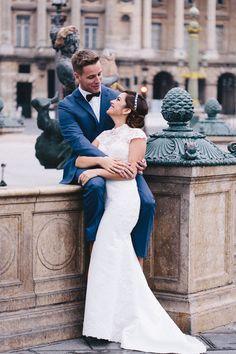 Fabiola and Alan's Paris Elopement