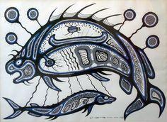 Fish :: Carl Ray :: Perspectives in Aboriginal Canadian Art :: 2011 :: Exhibitions :: Gallery Gevik Native Art, Native American Art, Woodland Indians, Indian Artist, Indigenous Art, Canadian Artists, Aboriginal Art, Fine Art Gallery, Art Google