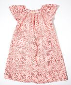 Lily Pocket Dress - Tiny Red Floral from Little Bean