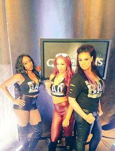 Ain't no party without Wrestling Divas, Women's Wrestling, Naomi Wwe, Tamina Snuka, Trinity Fatu, Wwe Sasha Banks, Wwe Women's Division, Paige Wwe, Wwe Female Wrestlers