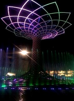Symbol of Expo Milan 2015 - Tree of Life.