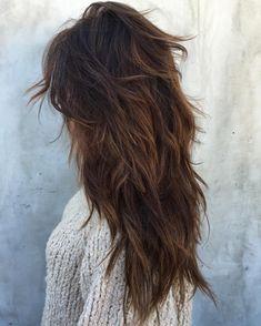 Long Curly Hair, Long Hair Cuts, Thick Hair, Long Choppy Layers, Long Layered Curly Hair, Long Choppy Layered Haircuts, Long Layer Haircuts, Straight Hair, Long Choppy Hair