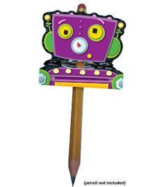 Robot Pencil Toppers - Carson Dellosa Publishing Education Supplies