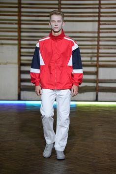 See the complete Gosha Rubchinskiy Spring 2016 Menswear collection.