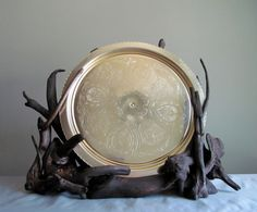 Driftwood Sculptural Plate Display Decorative by DriftingConcepts