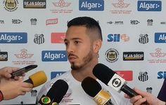 """Jean Mota aposta em """"liga"""" com Vecchio para substituir Lucas Lima  http://santosfutebolarte.omb10.com/SantosFutebolArte/placar-de-santos-x-fluminense"""