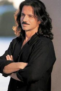 Yanni..music and the hair...love it.