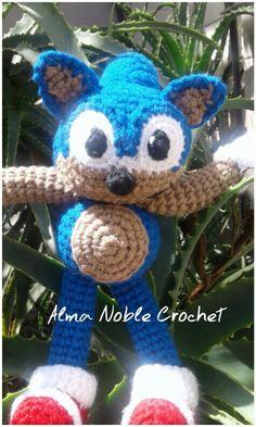 Sonic patrón de www.facebook.com/almanoblec