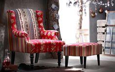 Ihr Neuer Lieblingssessel: Der Sessel U201ePatchworku201c Ist Ein Statement! Den  Passenden Hocker