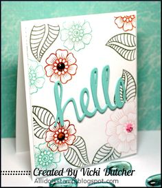 Hennah Elements: Altenew by vdutchr - Cards and Paper Crafts at Splitcoaststampers