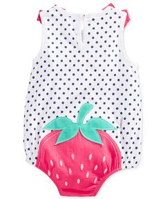 First Impressions Baby Clothes Pleasing First Impressions Baby Girls' Checkprint Watermelon Sunsuit Only Design Ideas