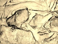 Chauvet Cave | Painting in the Chauvet Cave.