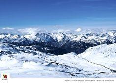 Estación de esquí Baqueira Beret (Lérida) #Spain