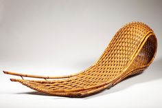 Kagedo Japanese Art Bamboo Sculpture by Honma Hideaki, Nitten Exhibition 2011 - Kagedo Japanese Art
