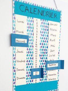 Un calendrier qu'on peut utiliser plusieurs années de suite sans en changer ? Et oui c'est possible ! C'est un calendrier perpétuel et c'est ce que propose de réaliser Momes avec cette petite fiche de bricolage pour enfants.