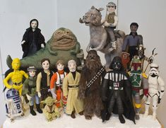 01 - Star Wars Epic Yarns - felted figures (small) - © TM Lucasfilm Ltd