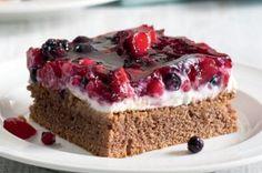 14x dezert s tvarohem | Apetitonline.cz Food Porn, Ricotta, Cheesecake, Food And Drink, Sweets, Baking, Recipes, Anna, Cakes