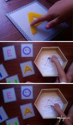Fun Activities For Kids Preschool Learning Activities, Alphabet Activities, Fun Activities For Kids, Preschool Activities, Preschool Apple Theme, Baby Kind, Kids Education, Legos, Alphabet Letters