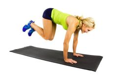 Side to Side Speed Plank