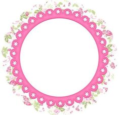 Toppers o Etiquetas con Flores para Imprimir Gratis. Printable Frames, Printable Labels, Party Printables, Free Printables, Diy And Crafts, Paper Crafts, Borders And Frames, Blogger Templates, Gift Tags