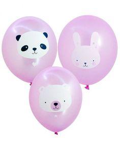 ballon-baby-animals-roze lievelings