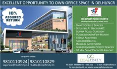 To Buy Your Own Office Space in Delhi/NCR Invest in GHI