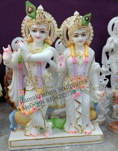 Radha Krishna Mandir, Krishna Art, Lord Shiva Statue, Krishna Statue, Radha Krishna Pictures, Lord Krishna Images, Gud Morning Images, Temple Design For Home, Rama Image
