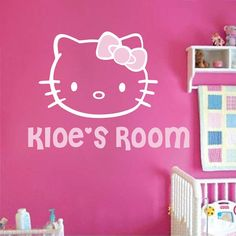 Hello Kitty Wall Decal Part 59