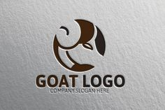 Goat Logo by Josuf Media on Creative Market