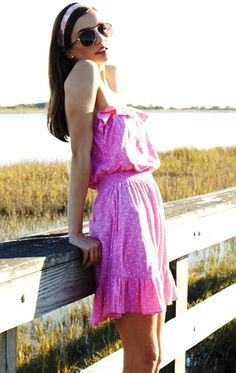 Lilly Pulitzer Spring '13- Vinita Dress in Pretty Pink Dot Dot Dot