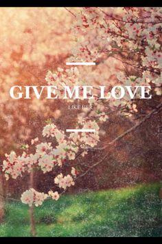 Give Me Love Ed Sheeran ♥