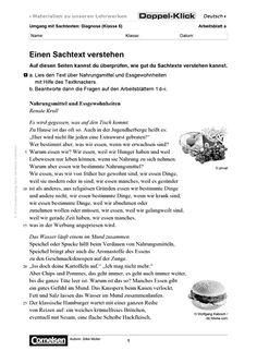 Arbeitsblatt DaZ 5. Klasse Einen Sachtext verstehen Speed Dating, Classroom Activities, Writing, Words, Grade 1 Reading, Class Activities, Being A Writer, Horse