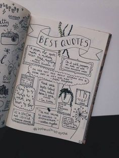 travel scrapbook Bullet journal quotes page - - Bullet Journal 2019, Bullet Journal Notebook, Bullet Journal Inspo, Bullet Journal Layout, Bullet Journals, Bullet Journal Quotes Spread, Bullet Journal Inspiration Creative, Bullet Journal Travel, Journal Guide