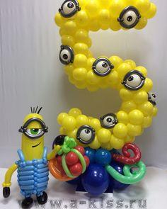 Idea para decorar tu fiesta de cumpleaños Minions