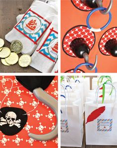 Pirate Party - hook ring toss game & dig in the sand for buried treasure Pirate Birthday, Pirate Theme, 2nd Birthday Parties, Pirate Games, Pirate Photo Booth, Girls Pirate Parties, Pirate Party Favors, Luau Pool Parties, Peter Pan Party
